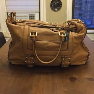 NWT Banana Republic satchel w/ shoulder strap